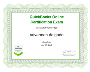 certified by quickbooks in Palm Desert